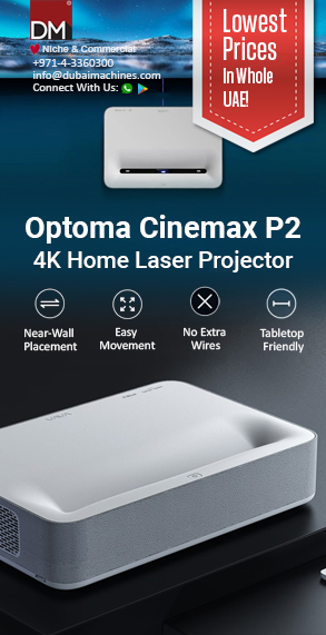 Optoma Cinemax P2 4K Home Projector
