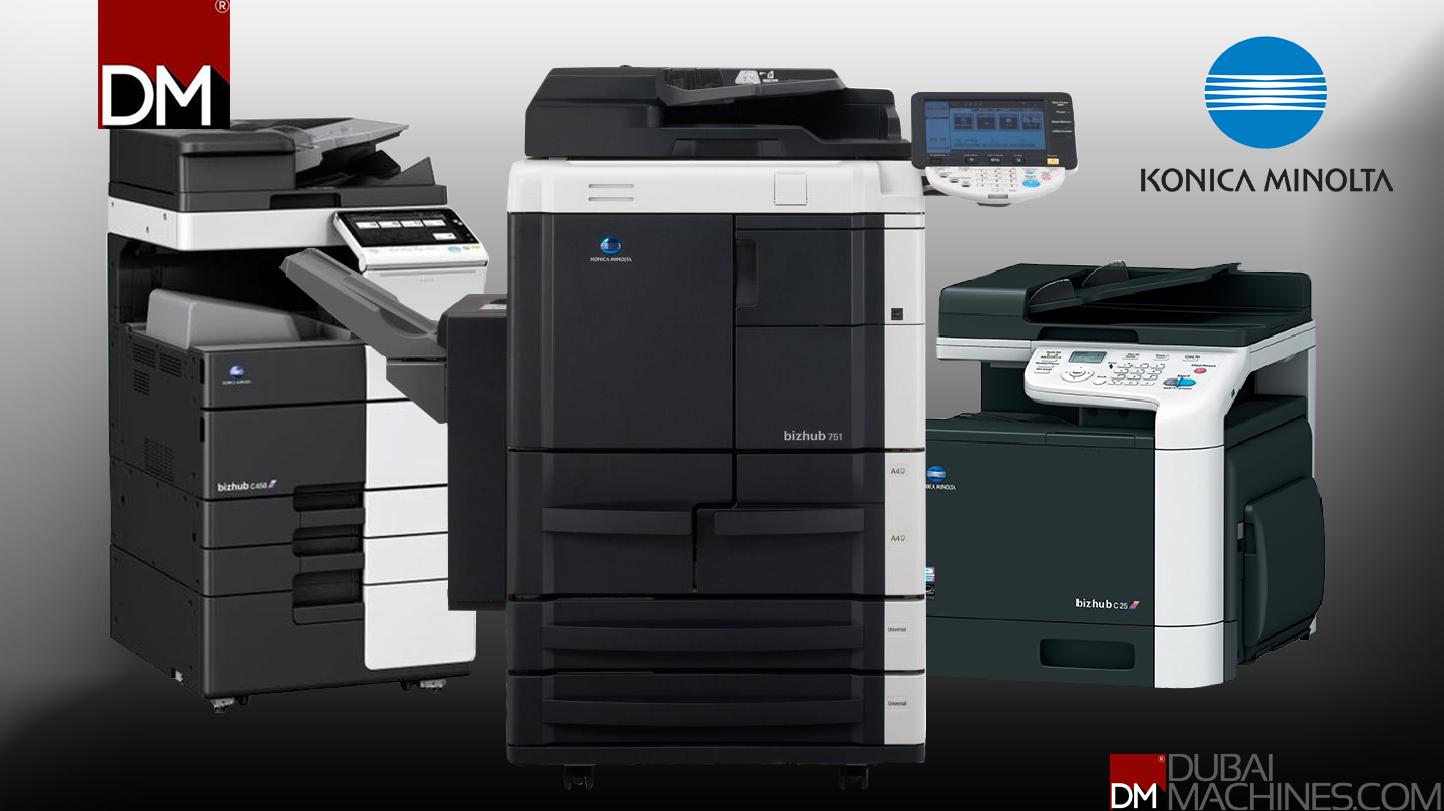 Buy Konica Minolta Heavy Duty Multifunction Printers in
