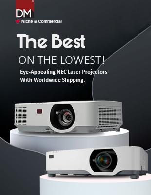 Eye-Appealing NEC Projectors