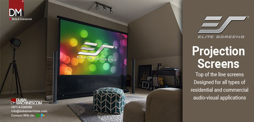 elite-projector-screen-alr-screen-projector-fixed-frame-screen-dubaimachines-com